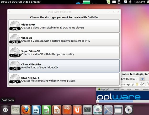 DeveDe – Criar vídeo DVDs/CDs no Linux e no Windows - Pplware