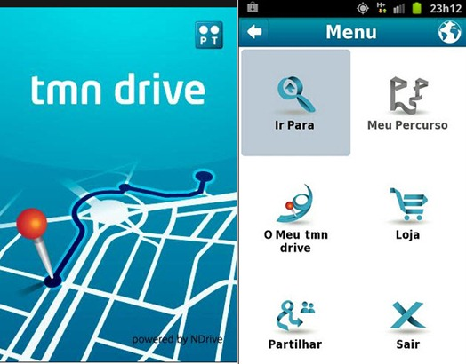 mapa ndrive 2.18 portugal TMN Drive   Aplicação de navegação GPS gratuita   Pplware mapa ndrive 2.18 portugal