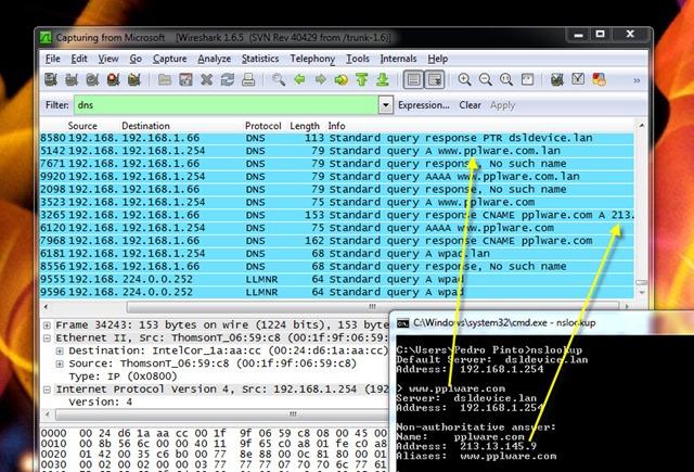 Aprenda a usar o sniffer Wireshark (Parte I) - Pplware