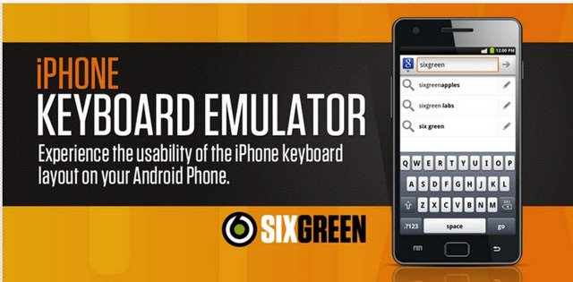 iPhone Keyboard – O teclado do iPhone no Android - Pplware