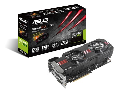 ASUS revela a GeForce® GTX 680 DirectCU II TOP - Pplware