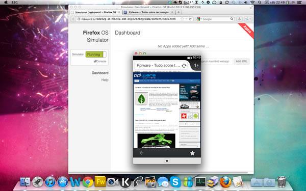 Experimente o Firefox OS no seu browser Firefox - Pplware