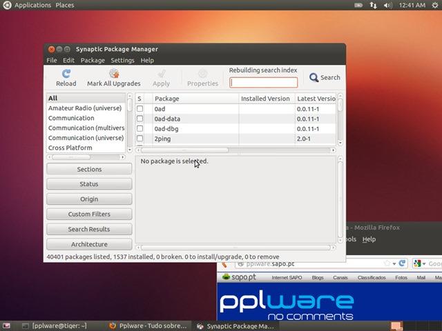 O que fazer após instalar o Ubuntu 12 10 (Parte II)? - Pplware