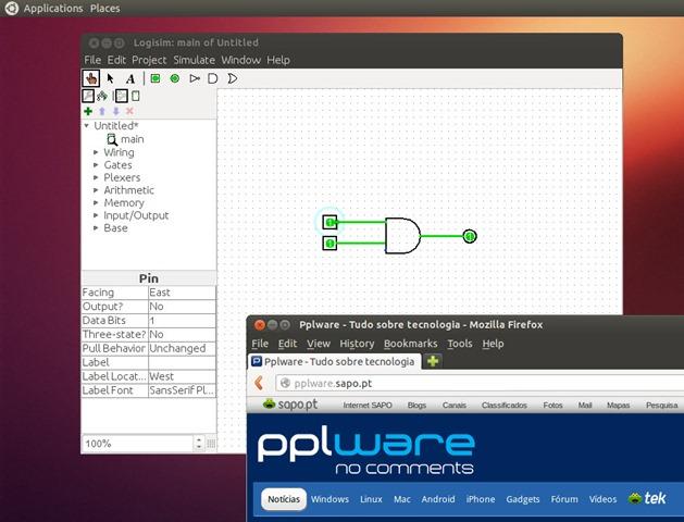 O Logisim é uma ferramenta educacional para a concepção e a simulação  digital de circuitos lógicos. Com uma interface simples e ferramentas para  simular ... c84b5be3468b0