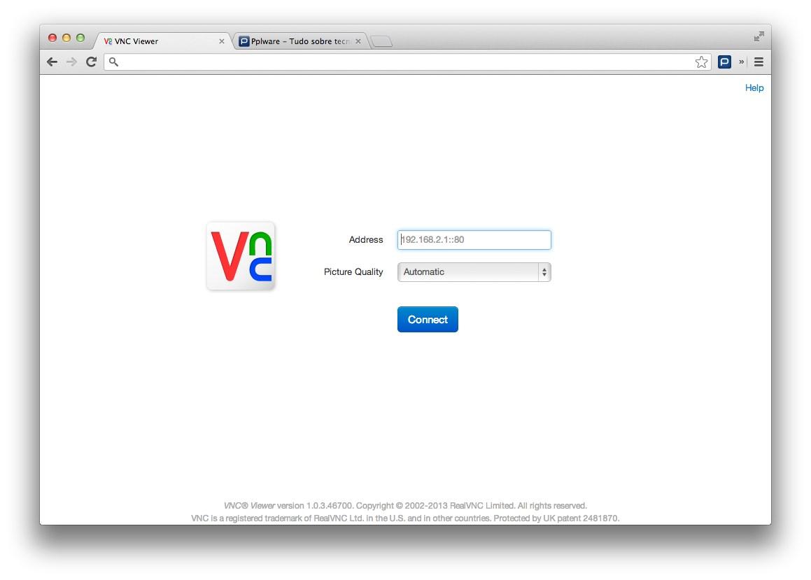 VNC Viewer - Aceda remotamente às suas maquinas no Chrome - Pplware