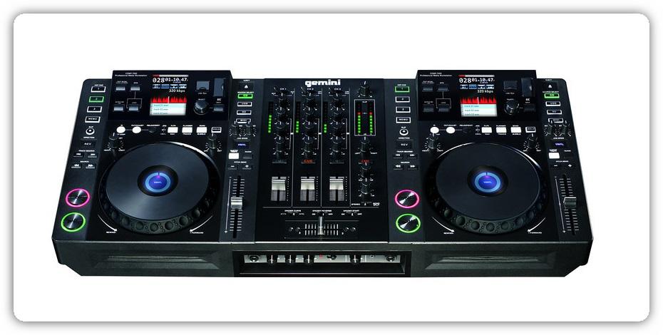 Gemini cdmp 7000 equipamento tudo em um para dj pplware - Mesa dj pioneer ...