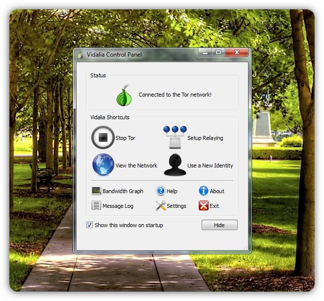 Vidalia bundle tor browser tor browser сетевые настройки hydra2web
