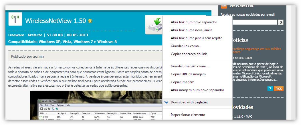 EagleGet 1.0.6, gestor de downloads que marca a diferença - Pplware