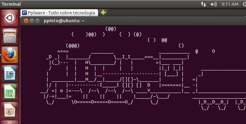 6 comandos para Linux Ubuntu para dizer….wow - Pplware