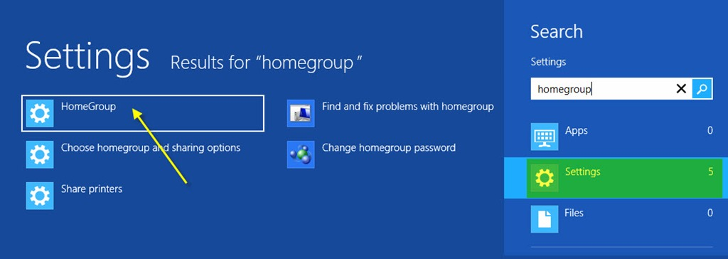 how to create homegroup in windows xp
