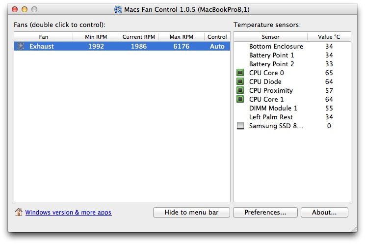 Mac Fan Control: Mantenha a temperatura do Mac controlada