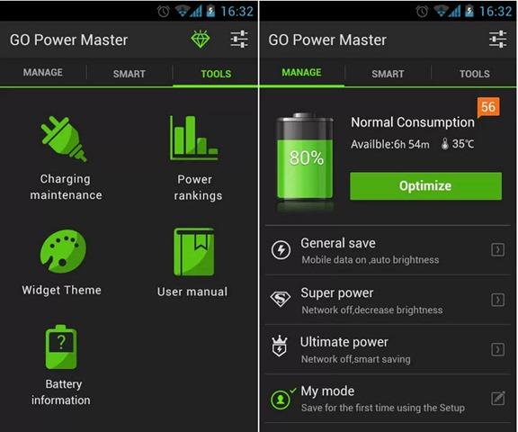 Top 6 Apps Para Economizar Bateria No Android Pplware