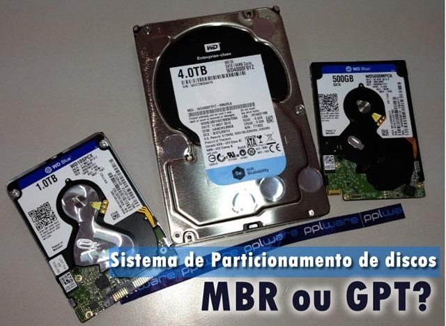 Qual a diferença entre MBR e GPT? - Pplware