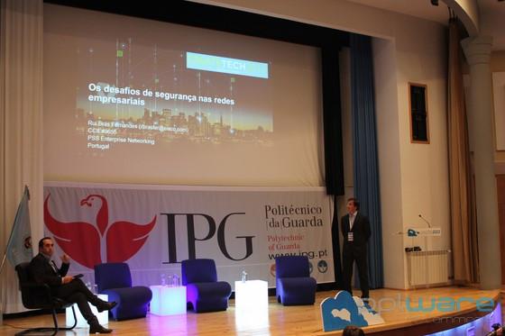 Rui Fernandes, da Cisco Portugal, fala no IPG acerca dos desafios de segurança nas redes empresariais.