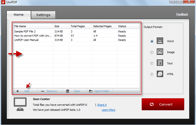 how to use amyuni pdf converter