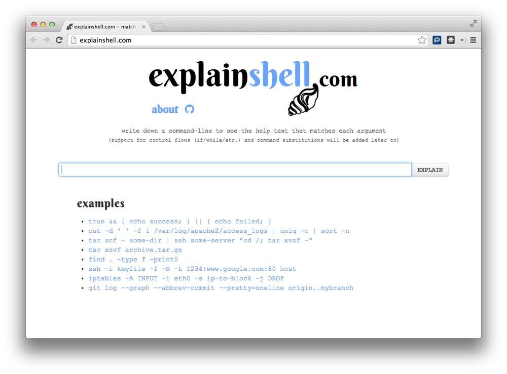 Explain Shell: Entenda os comandos de Linux que mais usa