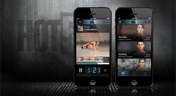 Hot5-Fitness-iPhone-App