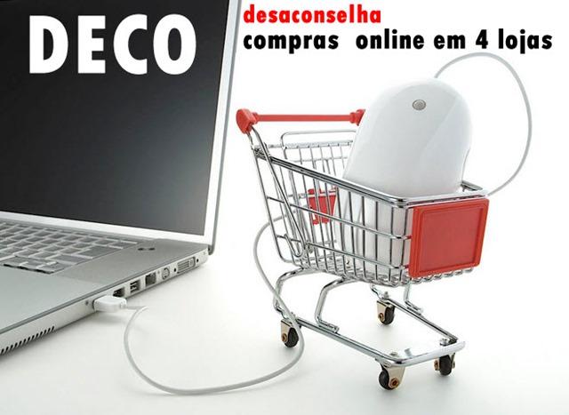 99ff5818b26 Pela terceira vez a DECO realizou um estudo no qual foi analisado o  funcionamento de lojas online dedicadas à área da eletrónica e pequenos ...