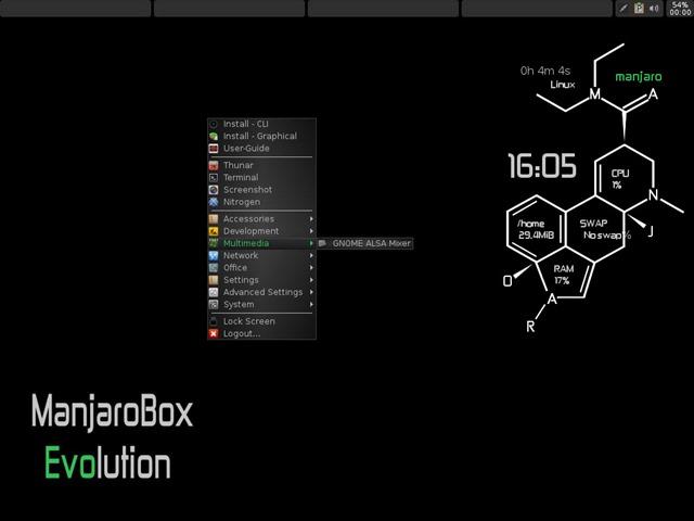 Manjaro Linux 0 8 9 disponível com KDE, xFCE e OpenBox - Pplware