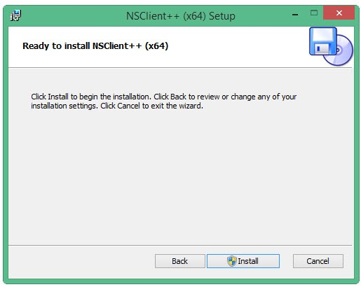 nsclient 64 bits