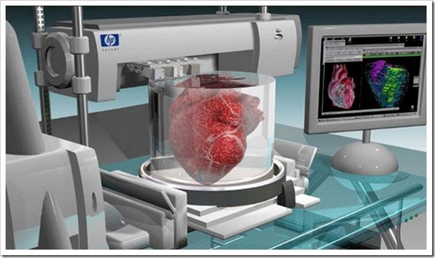 Impressão 3D de orgãos