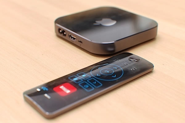 Nova Apple TV com controlos de movimentos
