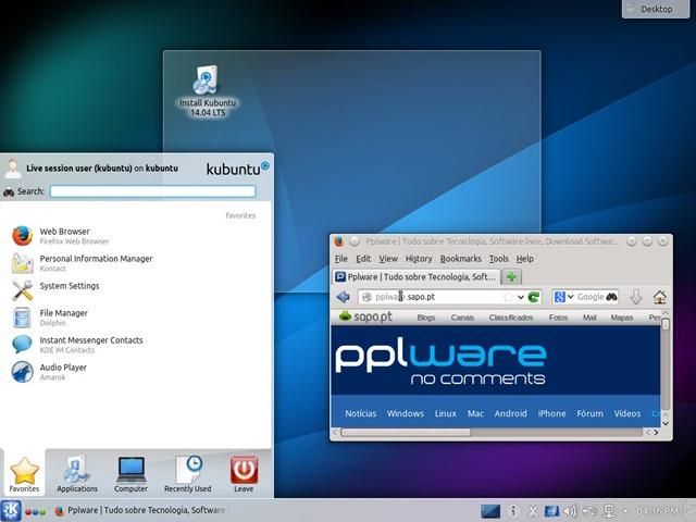 Kubuntu 14 04 LTS – A elegância e o poder de um Linux - Pplware