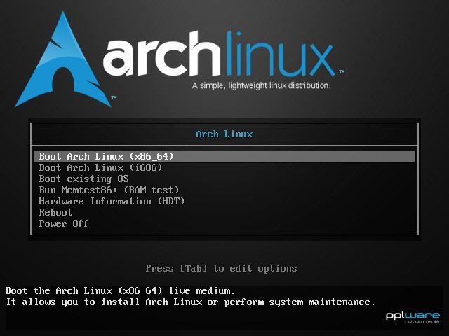ArchLinux – Como instalar sem espinhas (Parte 1) - Pplware
