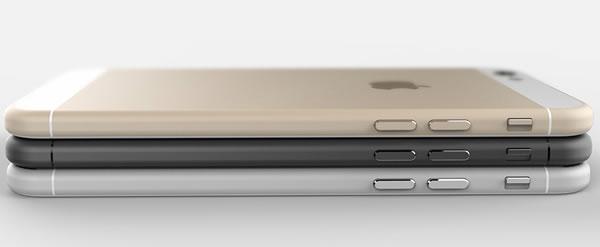 Possível aspecto do iPhone 6