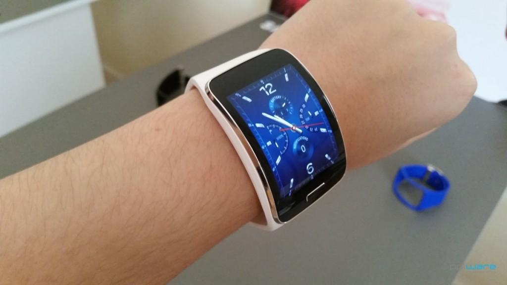 Apresentação do Samsung Gear S em Setembro de 2014.
