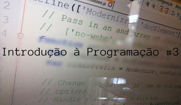Introdução à Programação 3