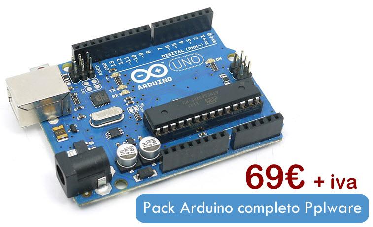 Oportunidade pack arduino completo pplware por apenas