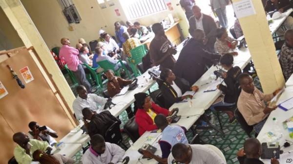 Call Center na cidade de Monrovia
