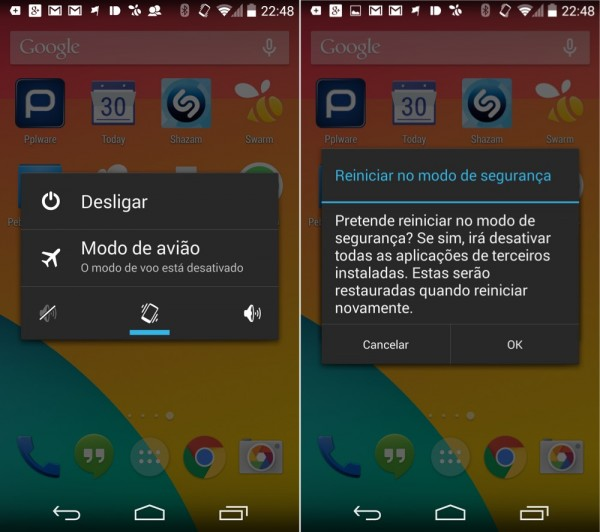 Dica: Sabe Arrancar O Seu Android Em Modo De Segurança