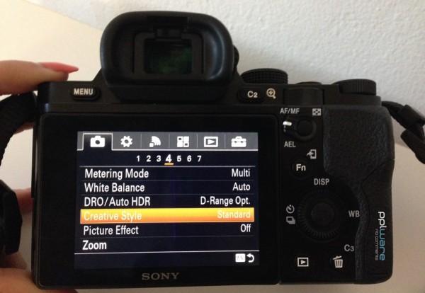 Sony a7_menu