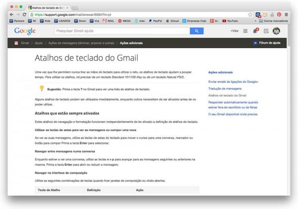 Dica Gmail