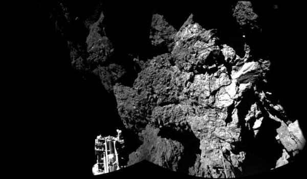 Primeira imagem do cometa captada pelo Philae