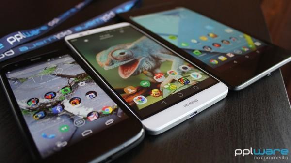 Smartphones e tablets... e eis que surge algo no meio: os phablets.
