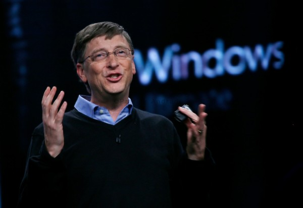 Bill Gates launches Microsoft Windows Vista operating system