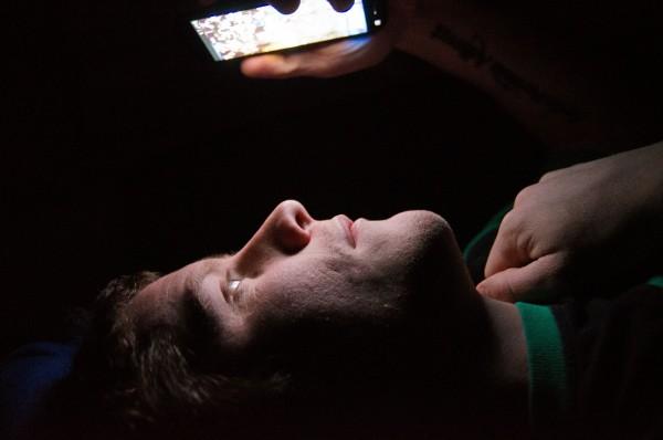 electronics-at-night
