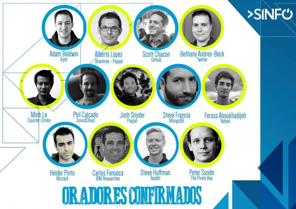 O elenco de oradores desta SINFO é, no mínimo, luxuoso.