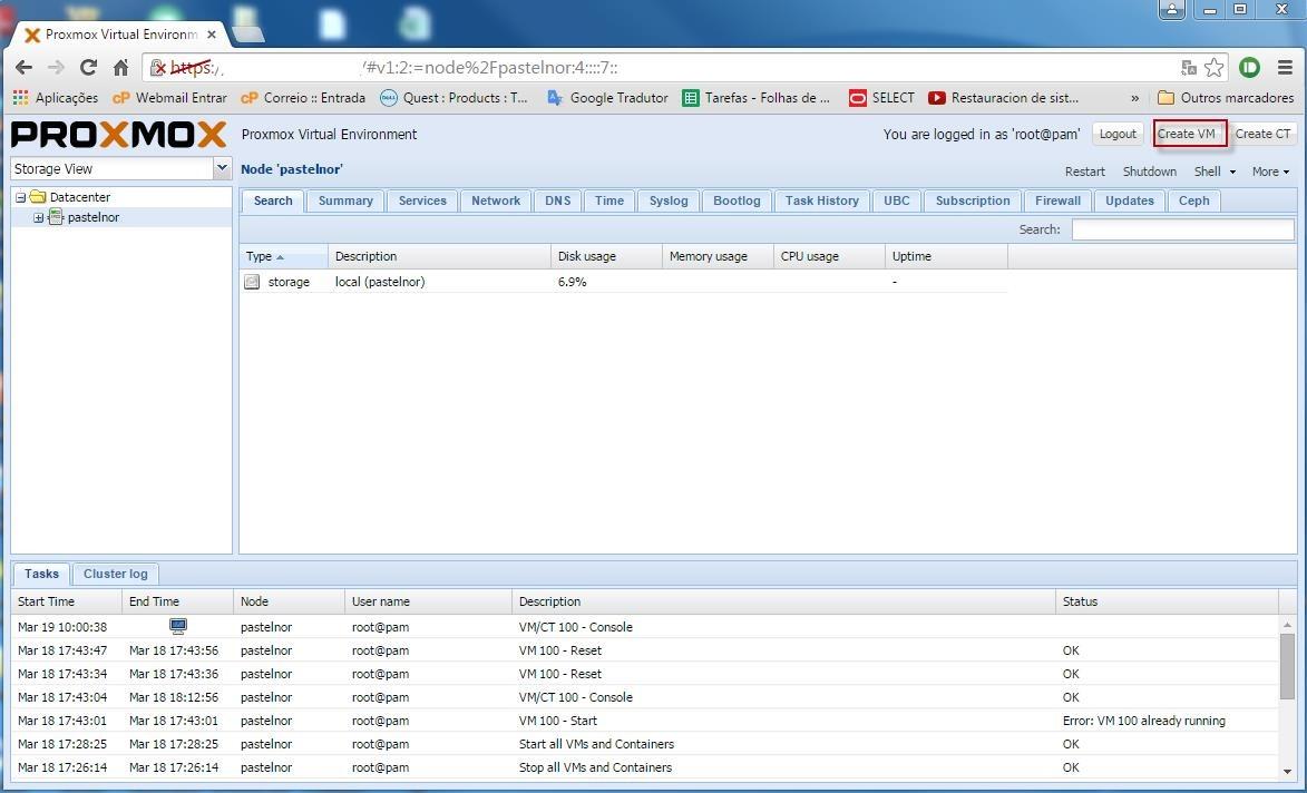 Proxmox VE: Vamos aprender a virtualizar um Windows - Pplware