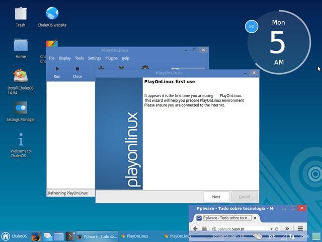 ChaletOS: Dê mais uma oportunidade ao GNU/Linux - Pplware