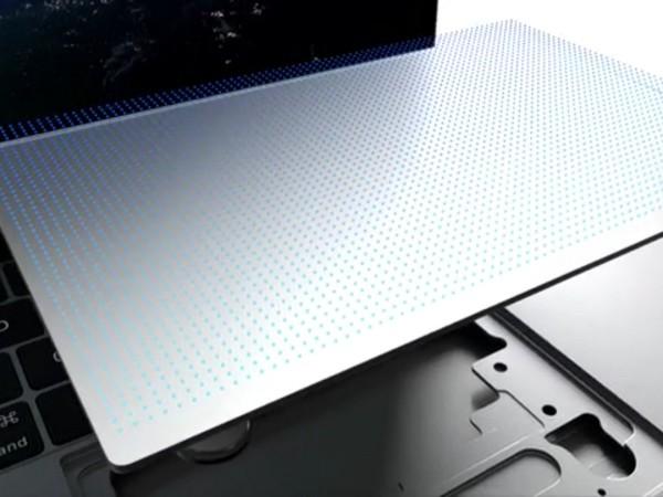 A tecnologia do novo teclado