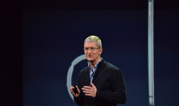 """""""And that's what everyone at Apple is focused on — pushing forward and creating the future."""", Tim Cook."""