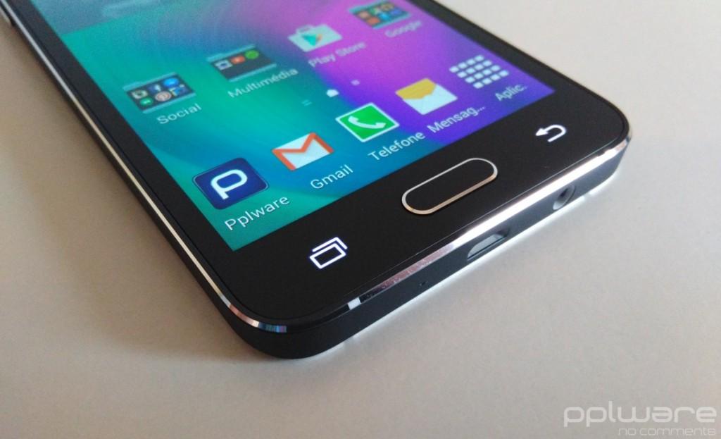 Samsung Galaxy A3 - Botões
