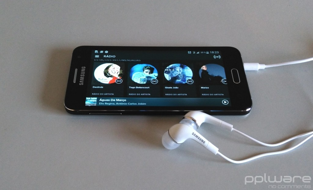 Samsung Galaxy A3 - Música