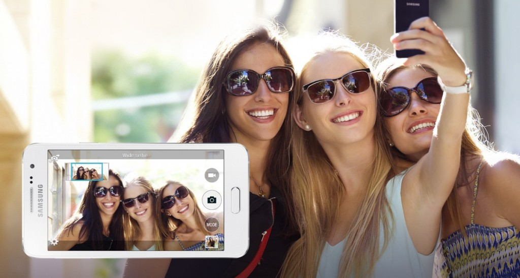 Samsung Galaxy A3 - Selfie