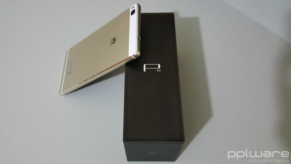 Huawei P8 - Caixa