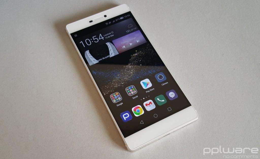 Huawei P8 - Ecrã